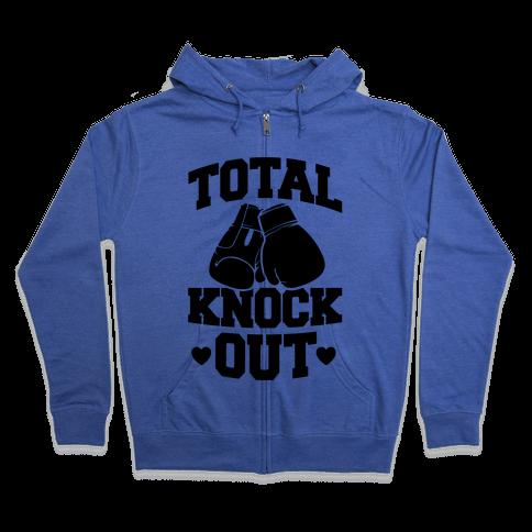 Total Knockout Zip Hoodie