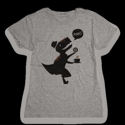 Tea Rex Womens T-Shirt