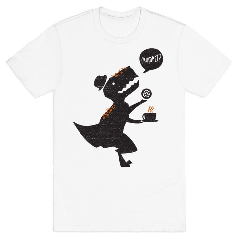 Tea Rex Mens T-Shirt