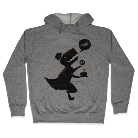 Tea Rex Hooded Sweatshirt