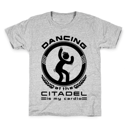 Dancing at the Citadel is my Cardio Kids T-Shirt