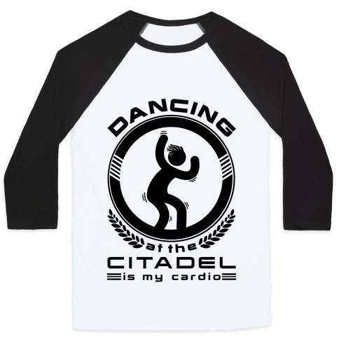 Dancing at the Citadel is my Cardio Baseball Tee
