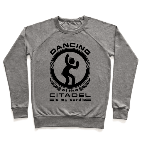 Dancing at the Citadel is my Cardio Pullover