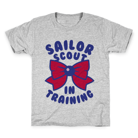 Sailor Scout In Training (Mars) Kids T-Shirt
