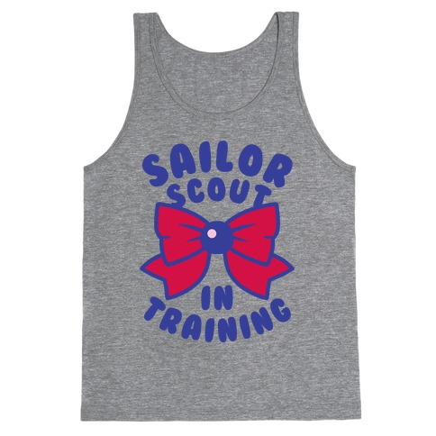 Sailor Scout In Training (Mars) Tank Top