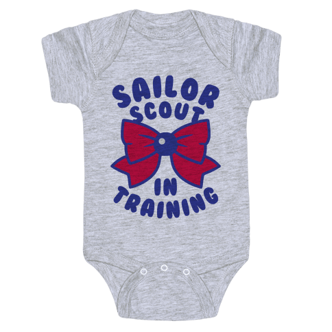 Sailor Scout In Training (Mars) Baby Onesy