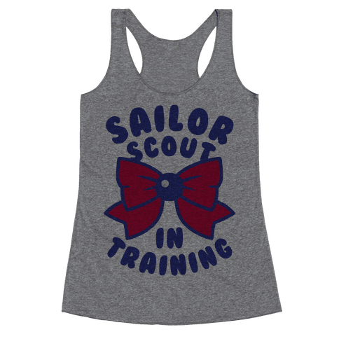 Sailor Scout In Training (Mars) Racerback Tank Top