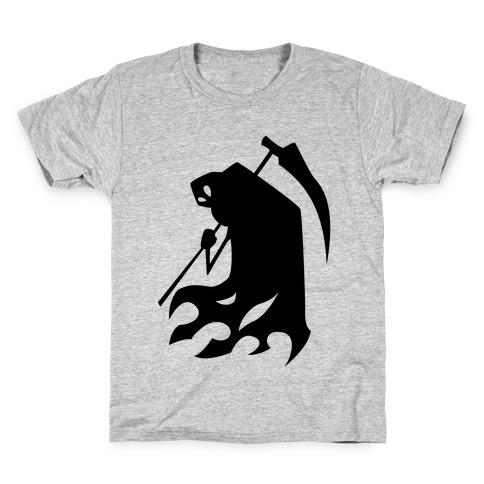 Kanji's Grim Reaper (Persona) Kids T-Shirt