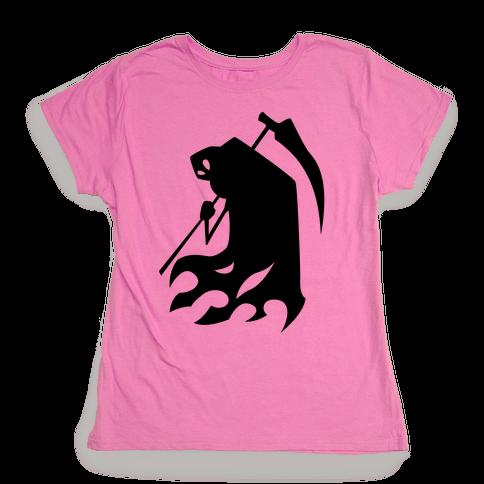 Kanji's Grim Reaper (Persona) Womens T-Shirt