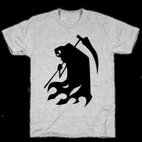 Kanji's Grim Reaper (Persona) Mens T-Shirt