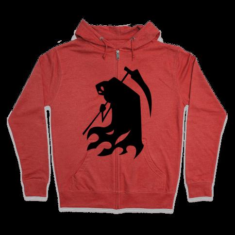 Kanji's Grim Reaper (Persona) Zip Hoodie