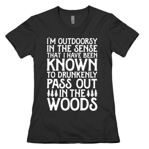 Outdoorsy Womens T-Shirt