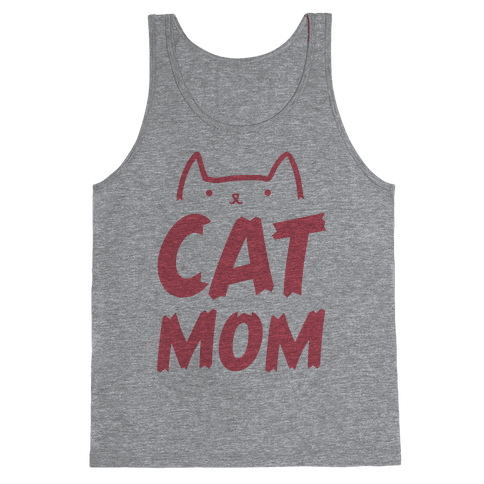 Cat Mom Tank Top