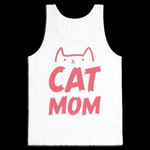 Cat Mom Tank Top