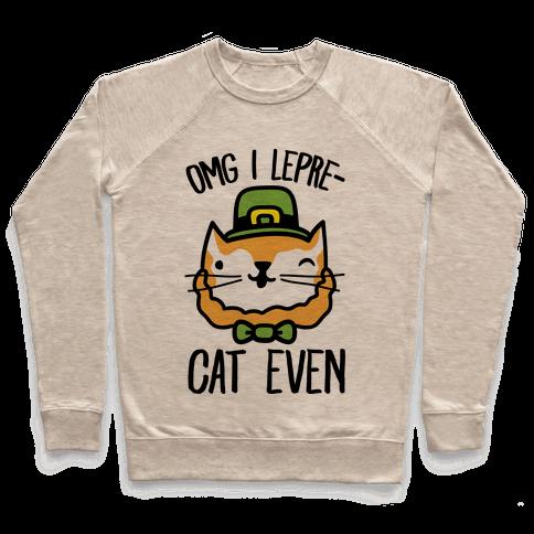 OMG I Lepre-Cat Even Pullover
