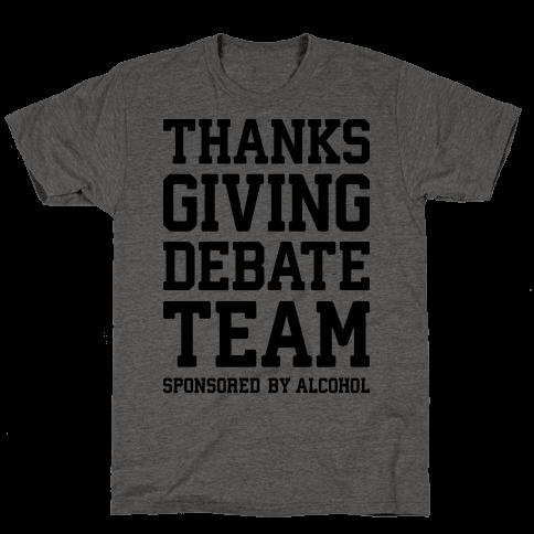 Thanksgiving Debate Team