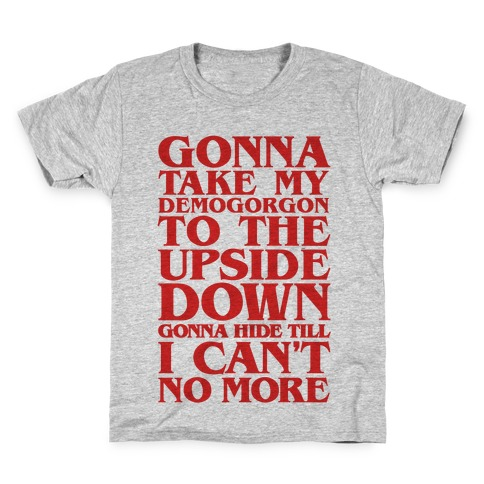 Old Town Road Stranger Things Parody Kids T-Shirt