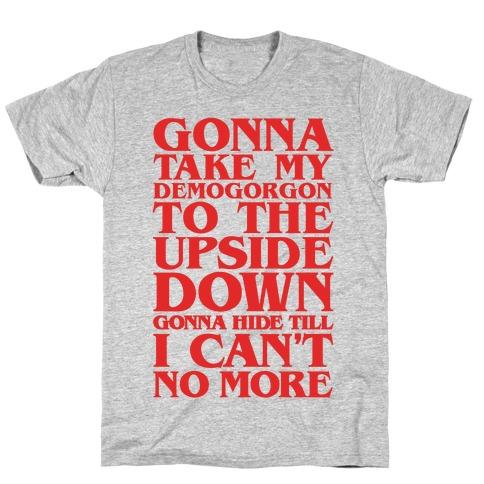 Old Town Road Stranger Things Parody T-Shirt