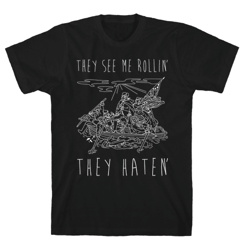 They See Me Rollin Washington Mens T-Shirt