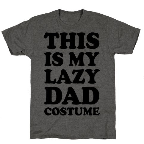 This Is My Lazy Dad Costume