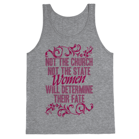 Not The Church Not The State Tank Top