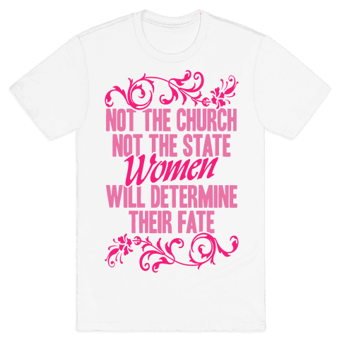 Not The Church Not The State Mens T-Shirt
