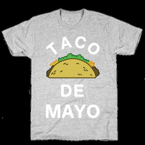 Taco De Mayo Mens T-Shirt