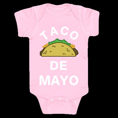 Taco De Mayo Baby Onesy