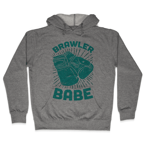 Brawler Babe Hooded Sweatshirt