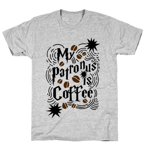 My Patronus Is Coffee Mens T-Shirt