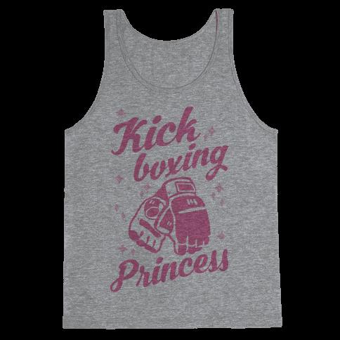 Kickboxing Princess Tank Top
