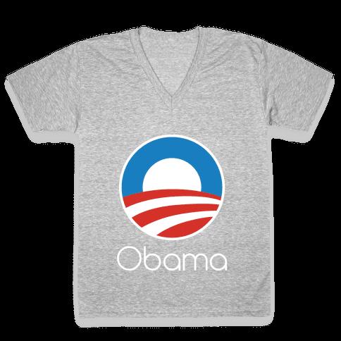Obama Pepsi V-Neck Tee Shirt