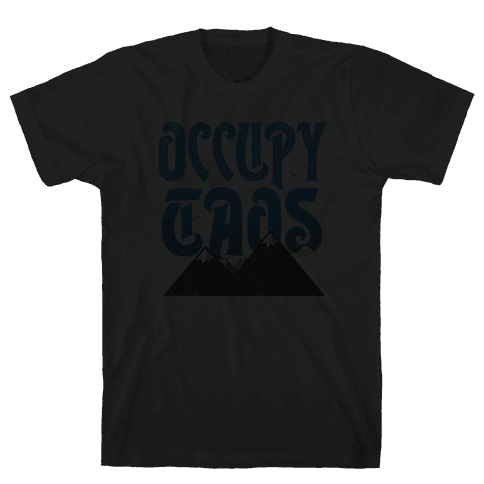Occupy Aspen Dusk Mens T-Shirt