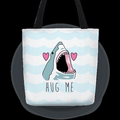 Hug Me Shark Tote