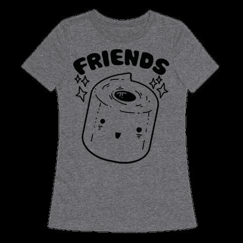 Best Friends TP & Poo (Toilet Paper Half)