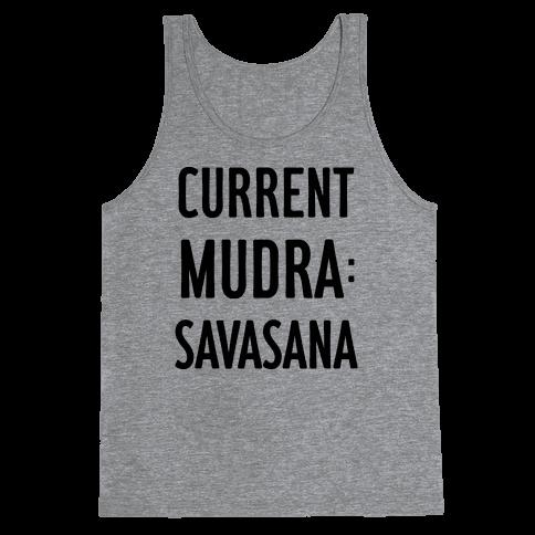 Current Mudra: Savasana Tank Top