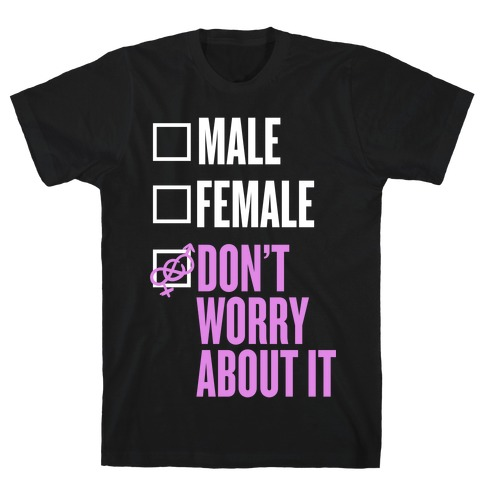 I am Genderfluid Check List T-Shirt
