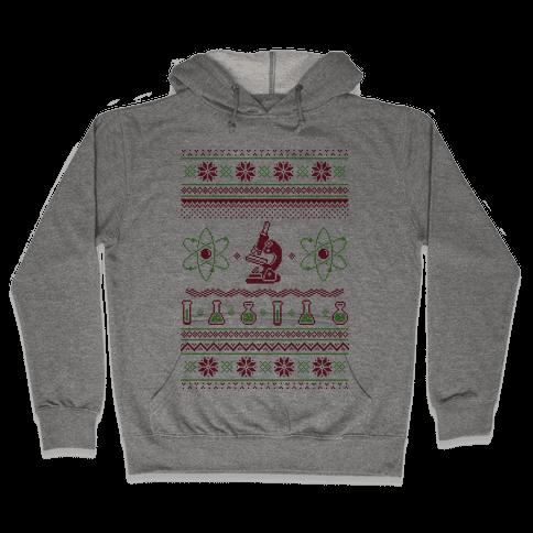 Ugly Science Sweater Hooded Sweatshirt