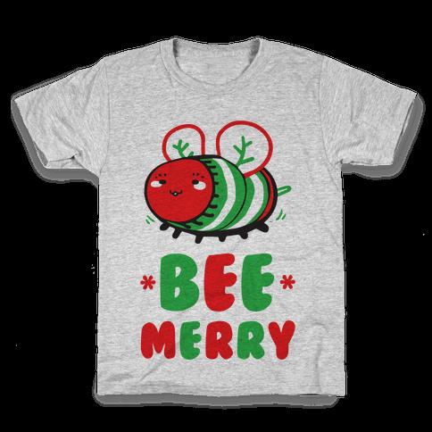 Bee Merry Kids T-Shirt