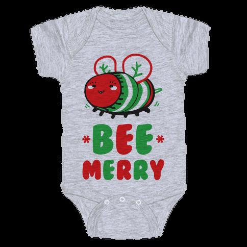 Bee Merry Baby Onesy