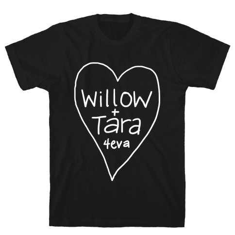 Willow + Tara 4eva Mens T-Shirt