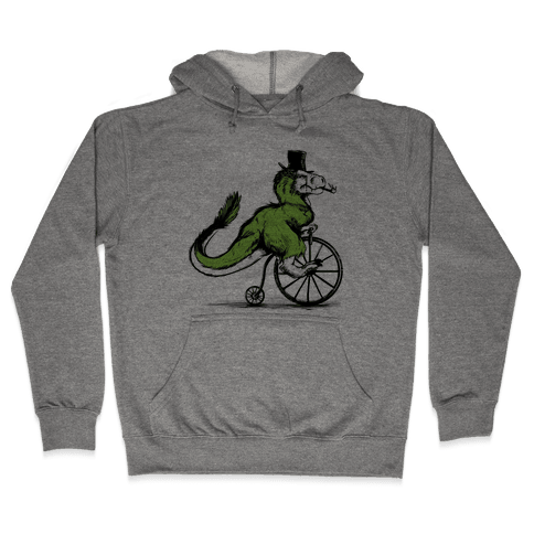 Penny Farthing T-Rex Hooded Sweatshirt