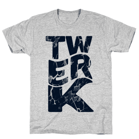 Twerk Wreck Mens T-Shirt