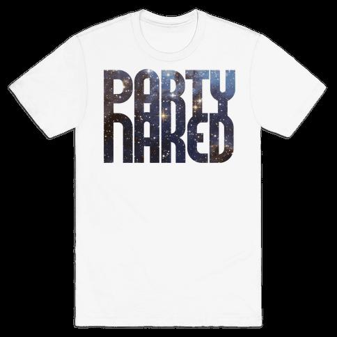 Party Naked Mens T-Shirt