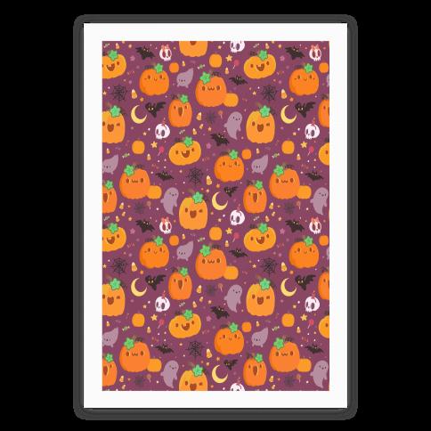 Cute 'N Spooky Halloween Poster