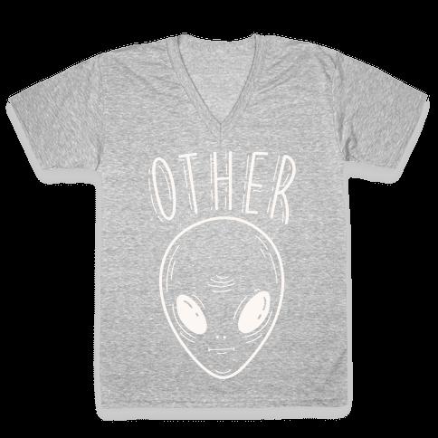 Other Alien V-Neck Tee Shirt