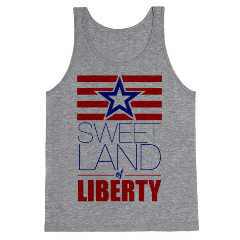 Sweet Land of Liberty Tank Top