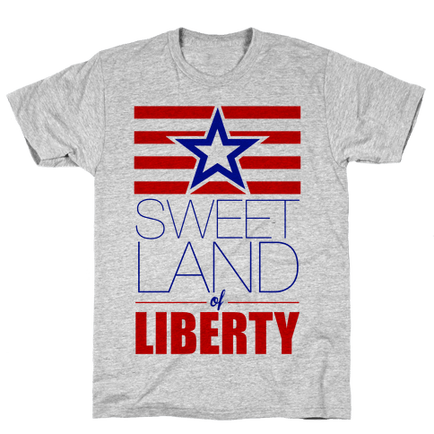 Sweet Land of Liberty Mens T-Shirt