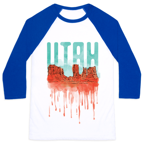 Monument Valley, Utah Baseball Tee