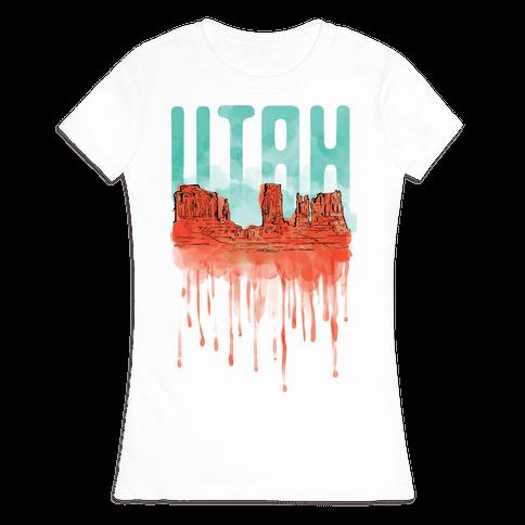 Monument Valley, Utah Womens T-Shirt